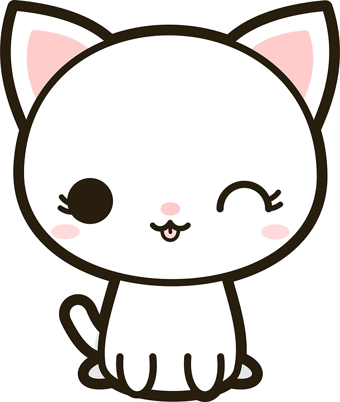 Cat clipart kawaii.  collection of high