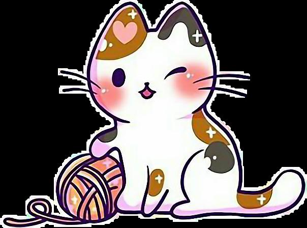 Cat clipart kawaii. Cute kitten kittens cats