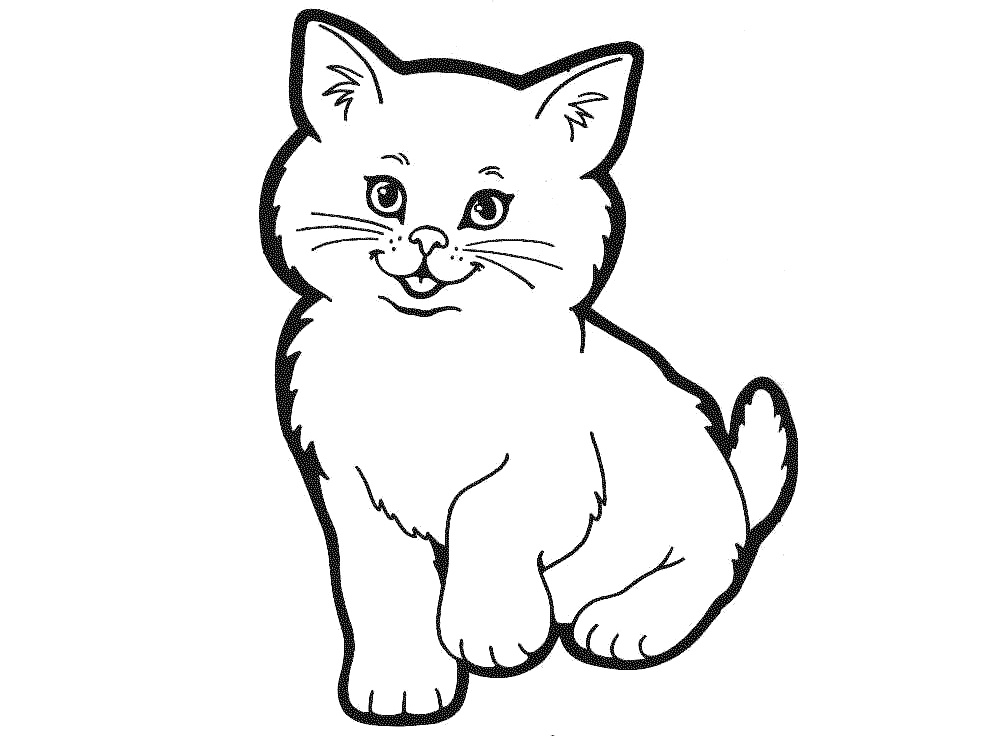 Free of cat download. Cats clipart outline