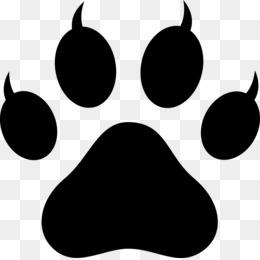 Cat clipart paw print. Polydactyl footprint clip art