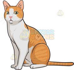 cats clipart post
