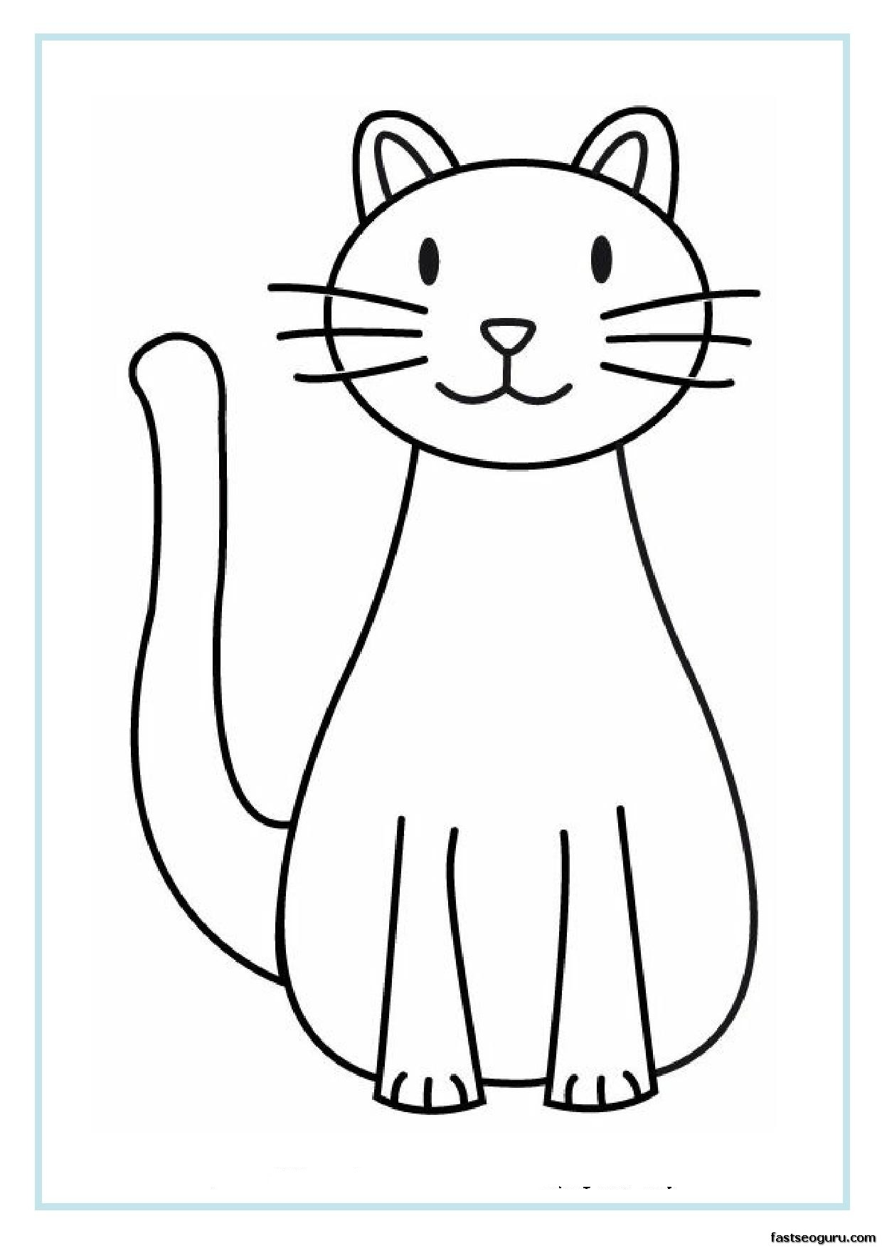Cat clipart printable. Free pictures download clip