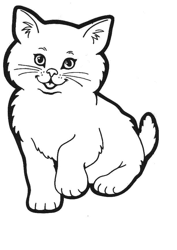 Free cat pictures download. Kitty clipart printable