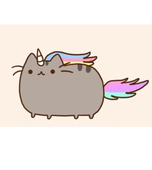 Cats clipart unicorn. My favorite pusheen pinner