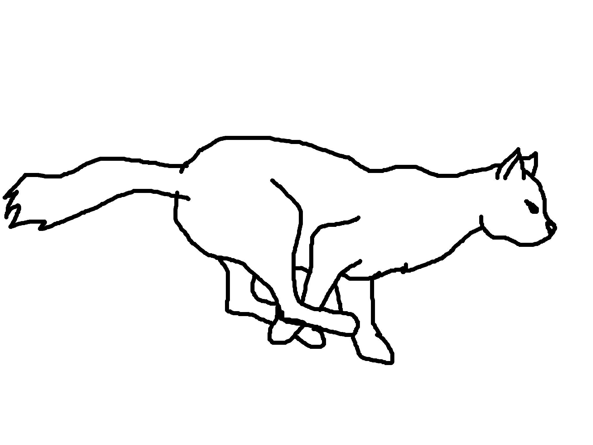 collection of running. Cats clipart run