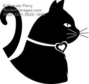Cat clipart shape. Animal stock photography acclaim