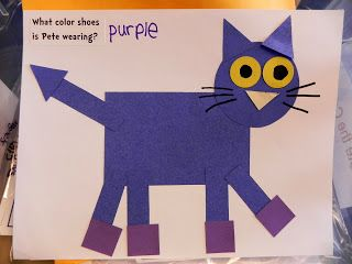 Pete the craft made. Cat clipart shape