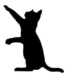 Free cat clip art. Cats clipart silhouette
