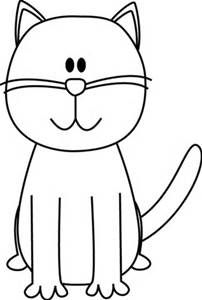 Clipart cat easy. Free simple cliparts download