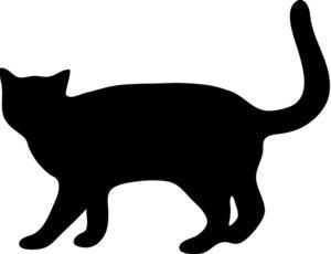 Cat clipart stencil.  best retirement ideas