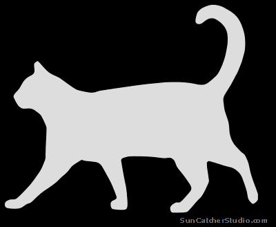Cat clipart stencil. Patterns stencils clip art