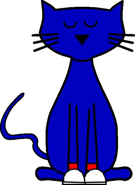 Pete shoes red clip. Cat clipart translucent