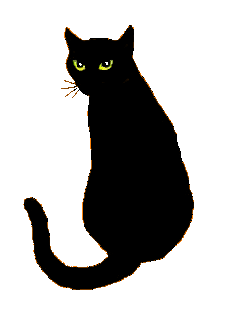 Skullblossom free web graphics. Cat clipart transparent background