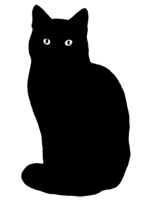 Cat clipart transparent background. Silhouette you will find