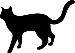 Pin on clip art. Cats clipart walking