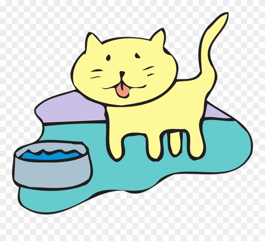Clip art png download. Cat clipart water