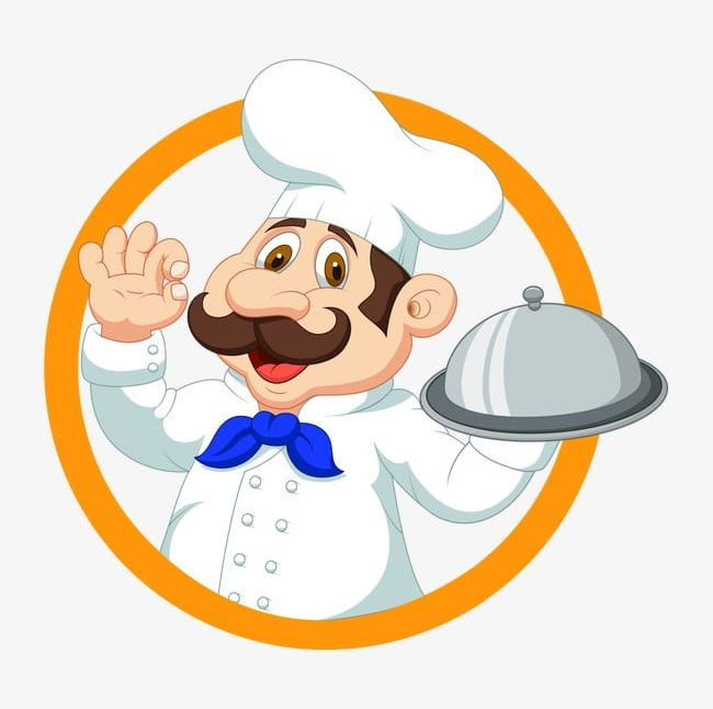 Catering clipart. Logo png backgrounds cap