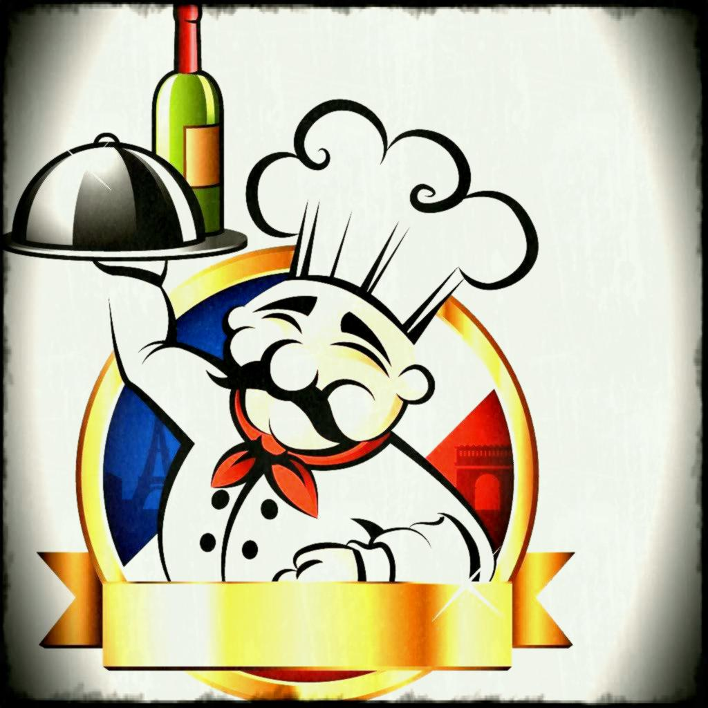 Chef clipart caterer. French catering x kitchen