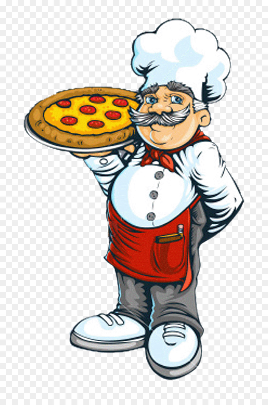 Pizza food transparent clip. Catering clipart chef indian