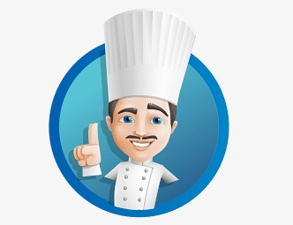 Chef people icon creative. Catering clipart chief cook