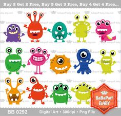 Catering clipart clothes. Cute little monster girls