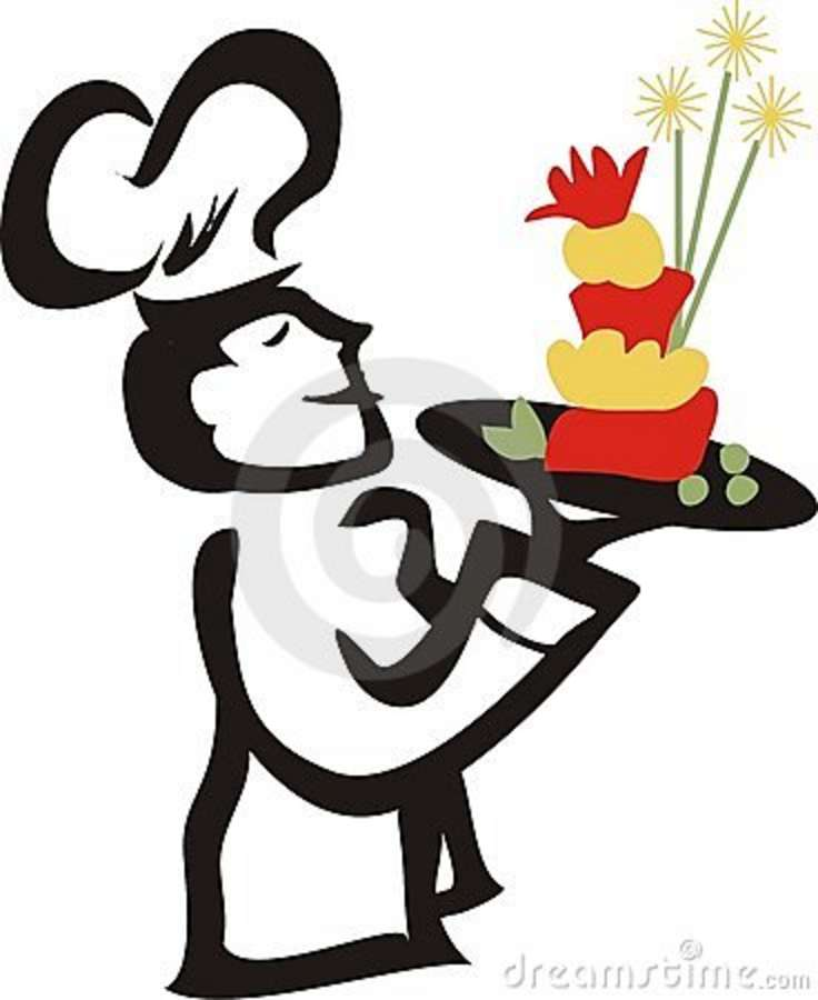 Catering clipart female. Lady