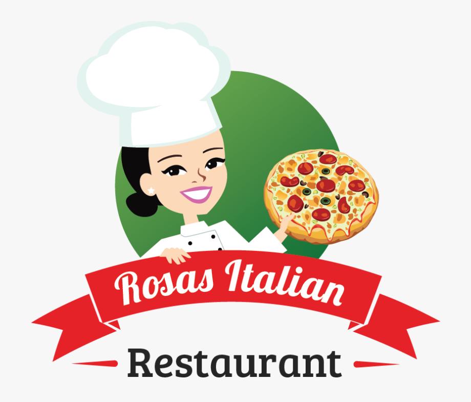 Catering clipart female. Of italian food restaurant