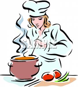 Clip art image a. Catering clipart female
