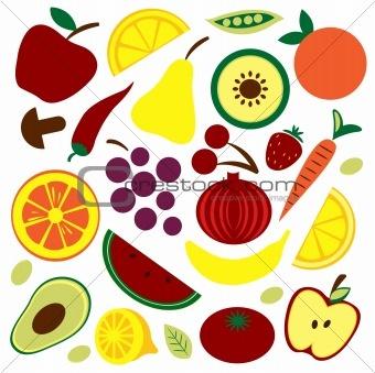 best fruit vegies. Catering clipart healthy eating