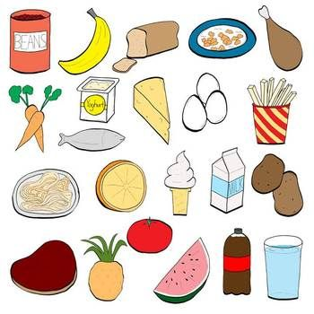 Classroom chit chat clip. Catering clipart healthy eating