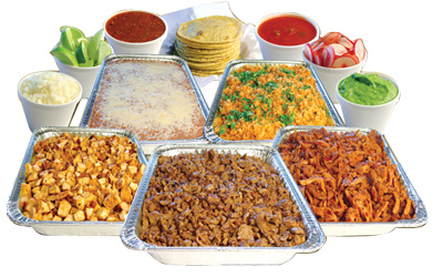 Mexicali border cafe mexican. Catering clipart healthy eating