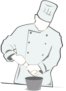 Catering clipart hotel cook. And cooking courses la