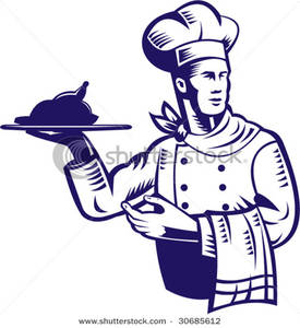 Catering clipart line. Services station