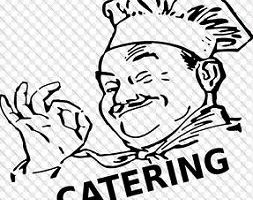 C download station page. Catering clipart line