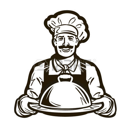 Services station . Catering clipart logo