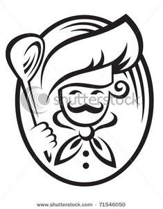 Free chef clip art. Catering clipart logo