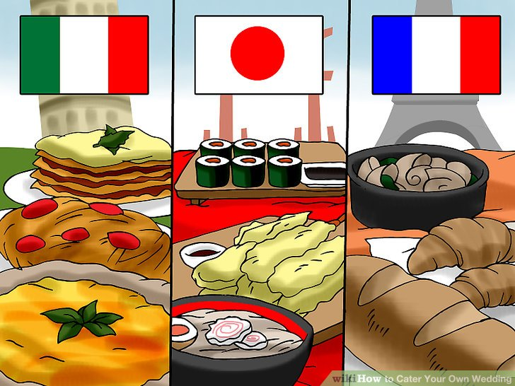 Catering clipart meal planning. How to cater your
