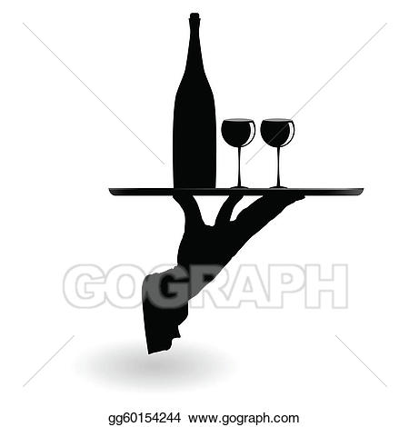 Catering clipart silhouette. Clip art royalty free