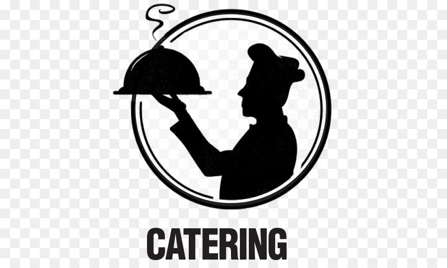 Catering clipart silhouette. Circle font line