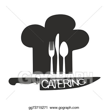 Stock illustrations gg . Catering clipart silhouette