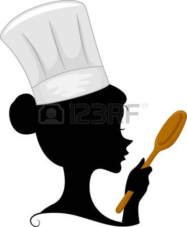 Catering clipart silhouette. Stock vector swat party
