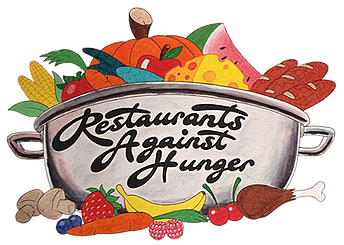 Restaurants against hunger oasis. Catering clipart starvation