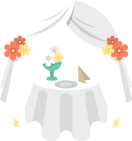 Hospitality services plan an. Catering clipart wedding catering