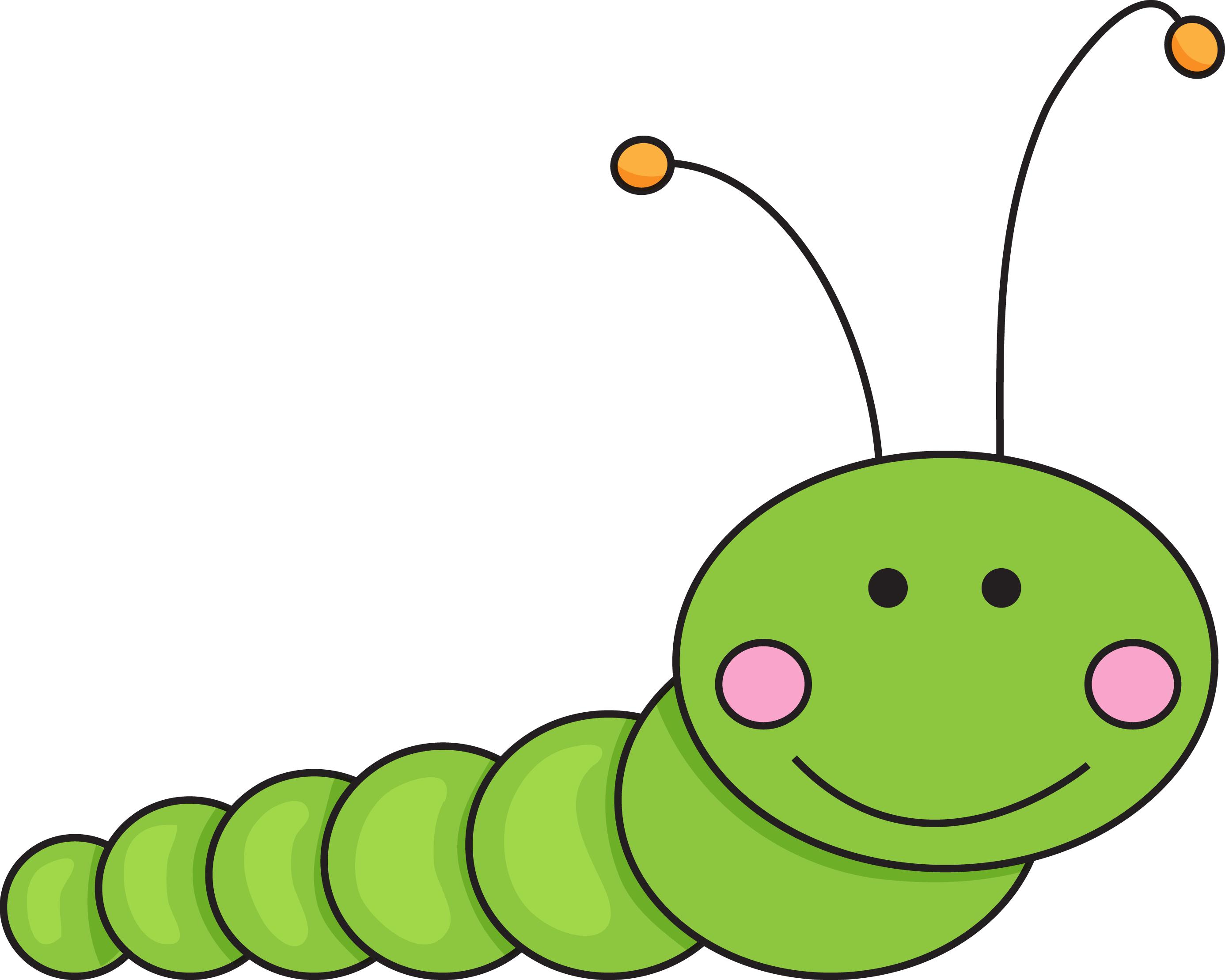 Caterpillar clipart.  clipartlook