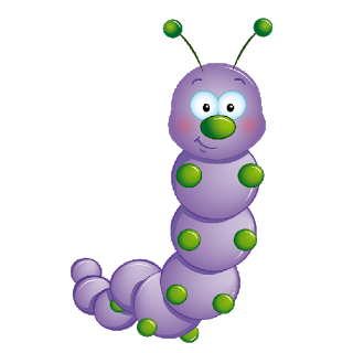 Caterpillar clipart. Online funny clip art