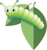 Caterpillar clipart adorable. Bee garden wedding smiling