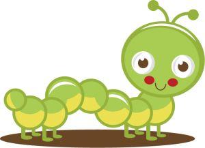 best bugs images. Caterpillar clipart adorable