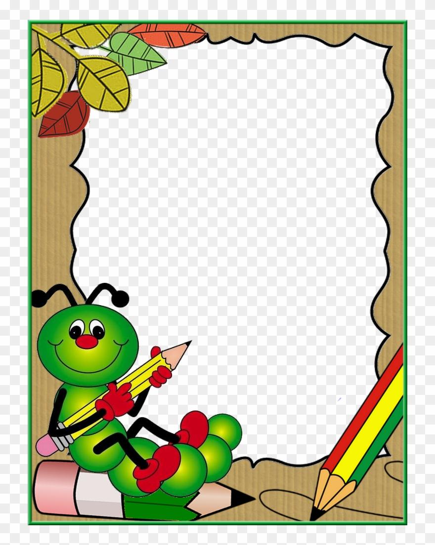 Caterpillar clipart boarder, Caterpillar boarder ...