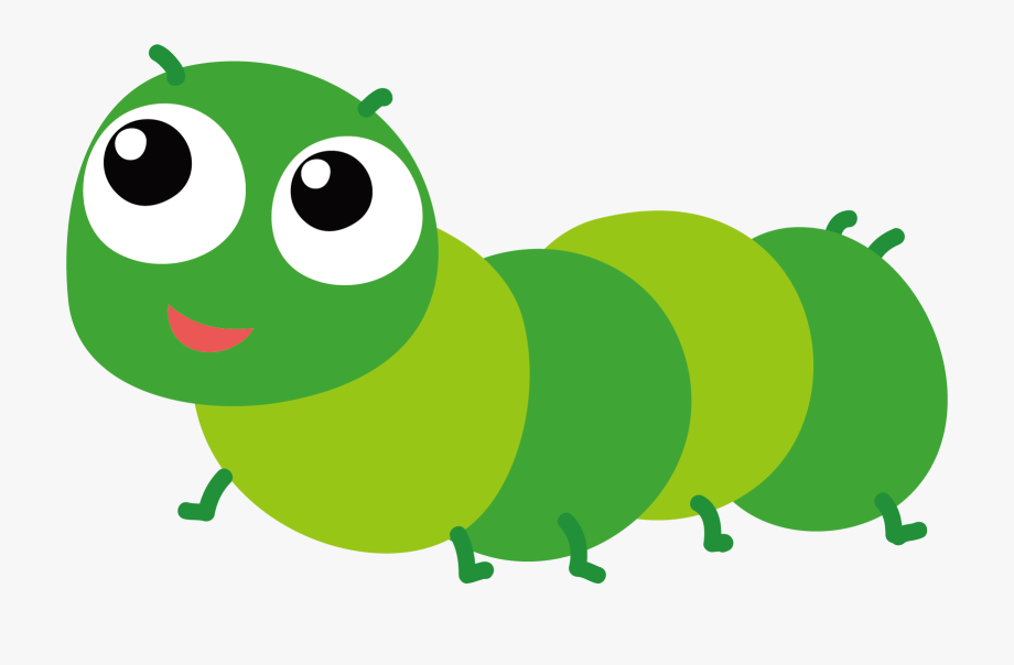 Insects png images free. Caterpillar clipart cartoon