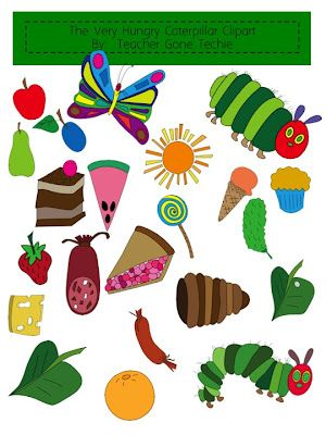 For the very hungry. Caterpillar clipart class